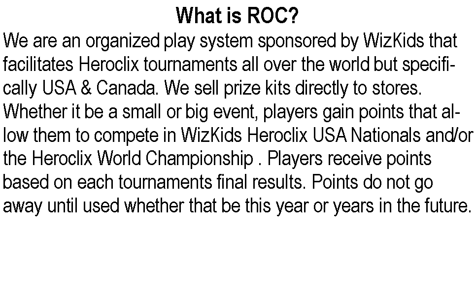 What Is ROC?